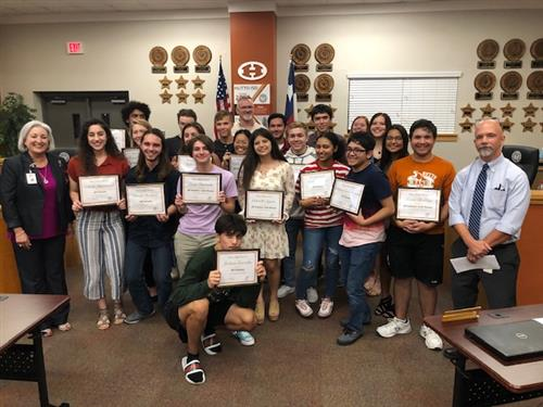 Hutto High School AP Scholars